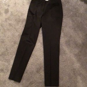 Straight leg black pants